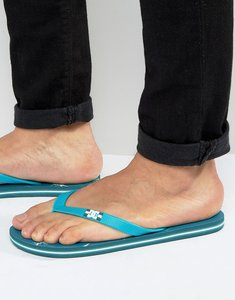 Read more about Dc graphic flip flops green - green