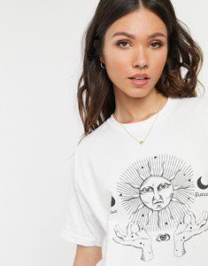 Read more about Daisy street relaxed t-shirt with solstice print
