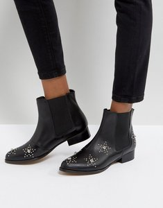 Read more about Depp leather star studded boots - blk leather