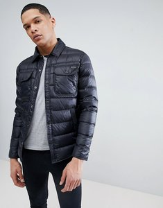 Read more about Polo ralph lauren lightweight down shirt jacket in black - black