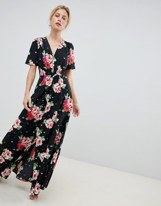 Read more about Asos design maxi tea dress in floral print