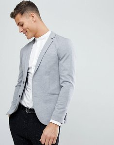 Read more about Kiomi jersey blazer in grey - grey melange
