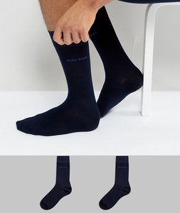 Read more about Boss socks in 2 pack - navy