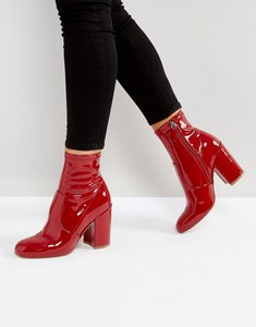 Read more about Steve madden gaze ankle boots - red