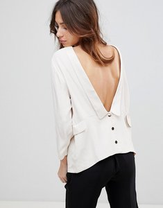 Read more about See u soon tuxedo blouse - offwhite