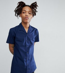 Read more about Hart hollywood slim pyjama shirt - navy