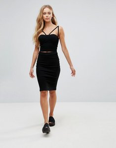 Read more about Parisian denim pencil skirt - black