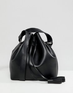 Read more about Faith black duffle bag with cross body bag - black