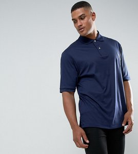 Read more about Polo ralph lauren tall pima cotton polo slim fit in navy - newport navy