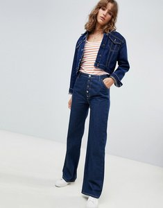 Read more about Mih jeans the paradise capsule eco raw button up high rise jeans - eco rinse
