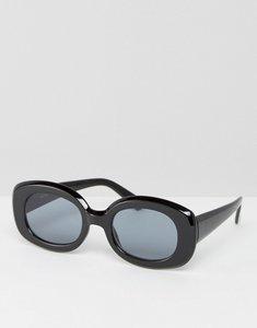 Read more about Asos square 90s sunglasses - black