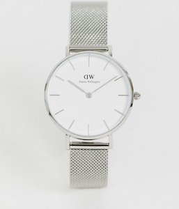 Read more about Daniel wellington dw00100164 mesh watch in silver - silver