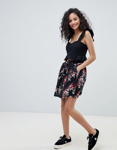 Read more about Pimkie floral pleated mini skirt - red