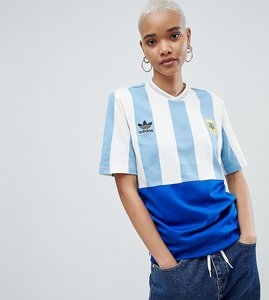 Read more about Adidas originals argentina mashup football shirt - blue