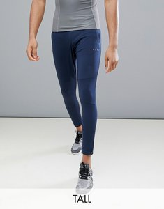 Read more about Asos 4505 tall skinny training joggers with zip cuff - navy