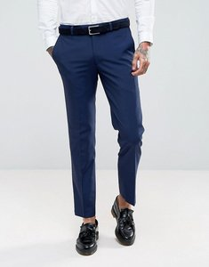 Read more about Harry brown slim fit blue tonic suit trousers - blue