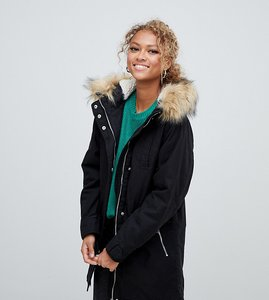 Read more about New look faux fur hood parka
