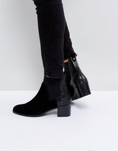 665ce7a97c2 Read more about Dune london oprentice heeled ankle boots - black-suede