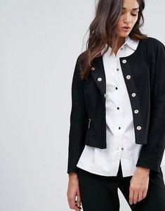 Read more about Closet zip pocket wool jacket - black