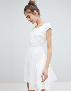 Read more about Qed london skater dress - white