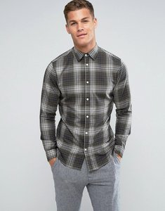 Read more about Selected homme shirt in slim fit check cotton - forest nig