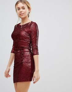 Read more about Girls on film sequin mini dress - red