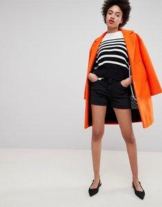 Read more about Esprit high waist denim short - black