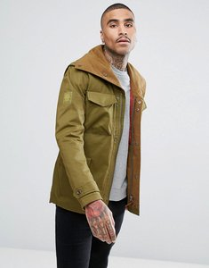 Read more about Pretty green roeburn jacket in green - khaki