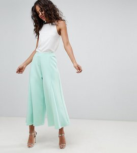 b99ce40ab4b06 Read more about Asos design tall cropped wide leg trousers with flowing hem