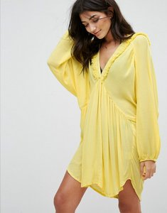 Read more about Anmol beach cover up - bright yellow
