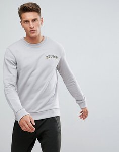 Read more about Esprit sweatshirt with 1968 print - grey 030