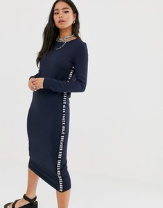 Read more about Noisy may long sleeve tape dress