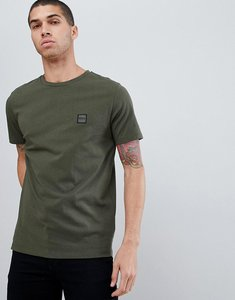 Read more about Boss tales small logo t-shirt in khaki - green