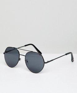 Read more about Bershka aviator sunglasses - black