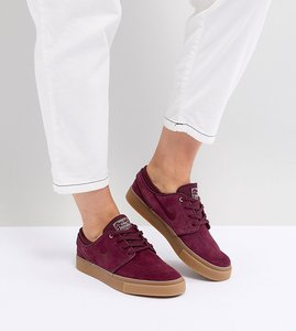 Read more about Nike sb zoom janoski trainers in burgundy - red