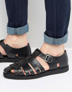 Read more about Red tape gladiator sandals in black - black