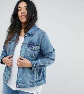 Read more about Levi s plus original trucker jacket - ocean sail