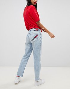 Read more about Tommy jeans 90s capsule 5 0 mom jeans - light blue denim