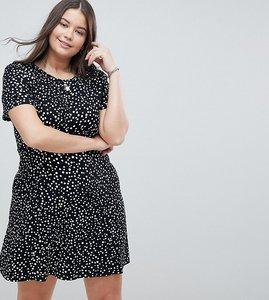 Read more about Asos design curve ultimate mini tea dress in scatter spot - multi