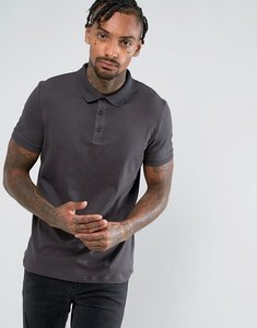 Read more about Asos polo in jersey in black - bal