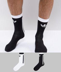 Read more about Adidas originals adicolor crew socks in white ce5710 - white