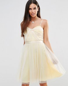 Read more about French connection angelica tulle midi dress - prcln bchclb