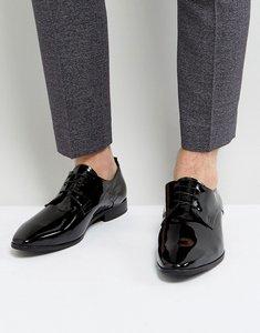 Read more about Kg kurt geiger dermot patent shoes - black