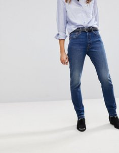 Read more about Levi s 501 high rise skinny jean - moody marble