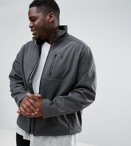 Read more about Polo ralph lauren plus softshell zip through sports jacket in grey - windsor heather