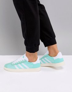 Read more about Adidas gazelle primeknit trainers - easy green chalk