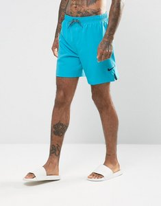 Read more about Nike core short swoosh swim shorts in blue ness7424445 - blue