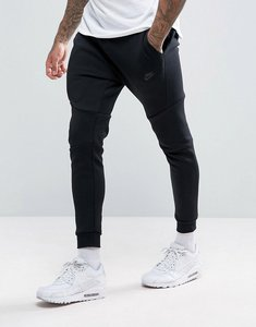 Read more about Nike tech fleece skinny joggers in black 805162-010 - black