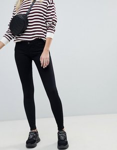 Read more about Noisy may low rise skinny jegging - black