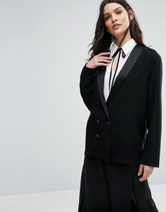 Read more about Selected melanie tux blazer - black